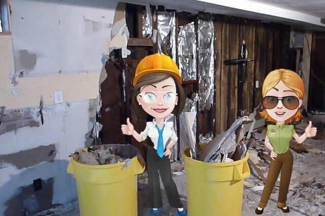 Jess and Liane's Waste Solutions Small Demolition Jobs