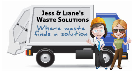 Jess and Liane's Waste Solutions logo
