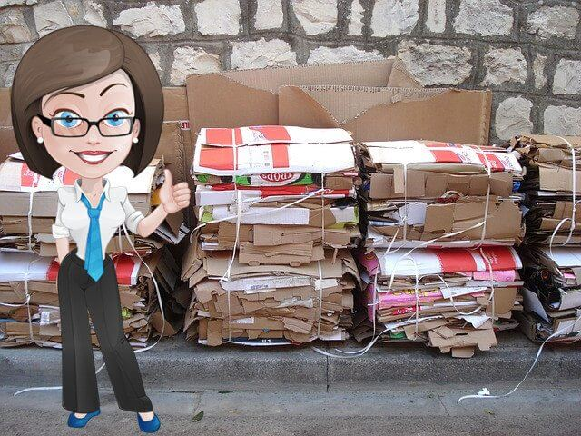 Jess and Liane's Cardboard Recycling Melbourne